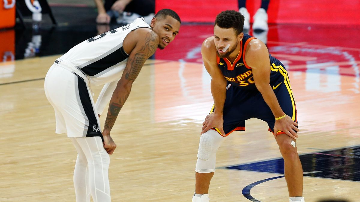 NBA Odds & Sharp Betting Pick for Warriors vs. Spurs: Pro Action Flips Tuesday's Spread (Feb. 9) article feature image