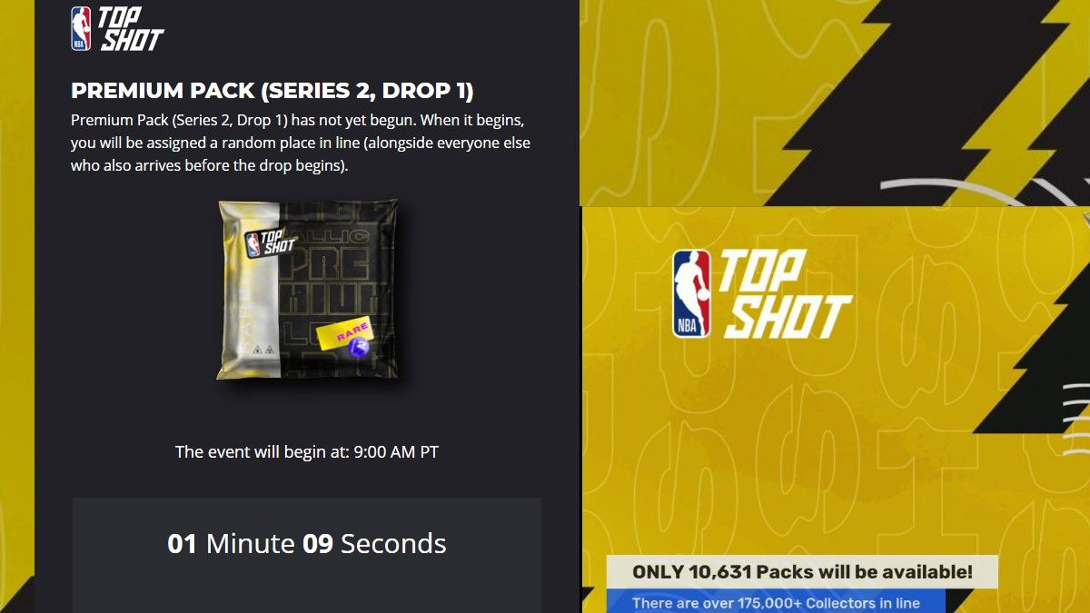 NBA Top Shot Users More Than Doubles in Latest Pack Drop (Feb. 26) article feature image