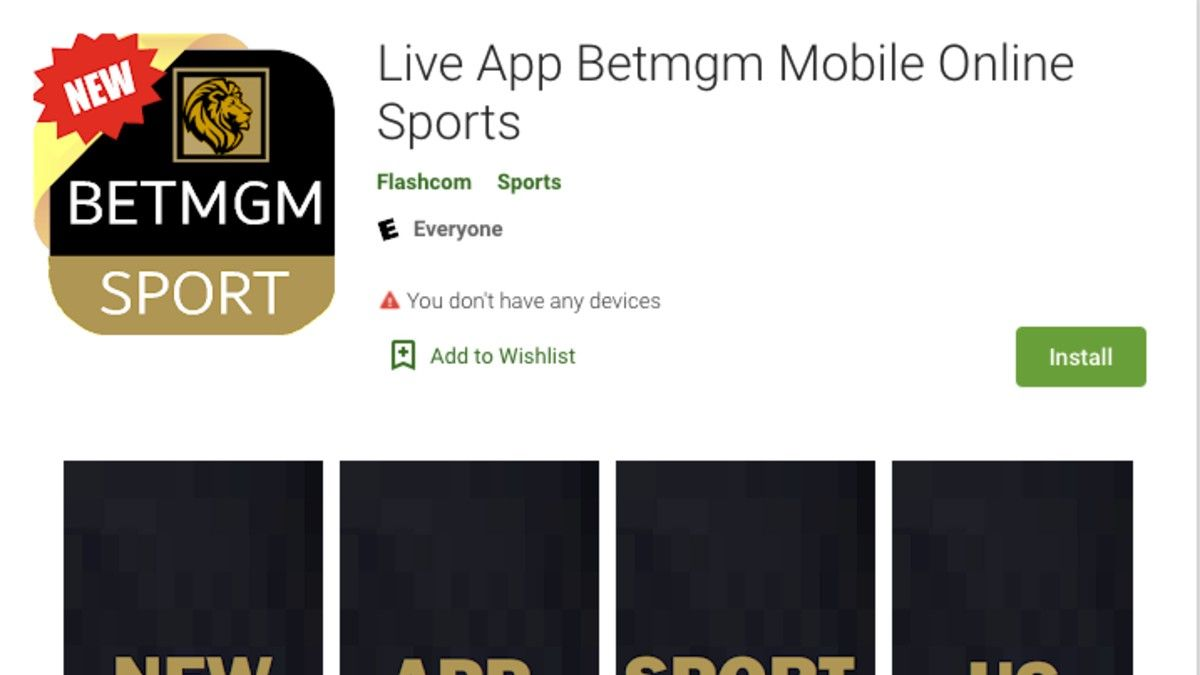 Offshore Sportsbook MyBookie Disguised as BetMGM App in Google Play Store article feature image
