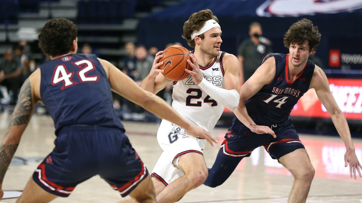 College Basketball Betting Power Ratings Update: Gonzaga, Baylor Still Holding Top Spots in March article feature image
