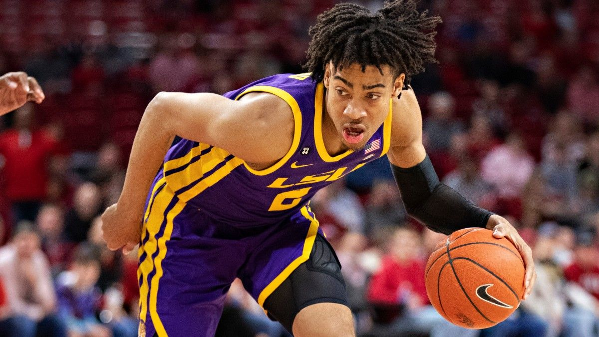 NCAA Tournament Player Props: Saturday's Early Afternoon Picks, Including Georgetown, Kansas & LSU (March 20) article feature image