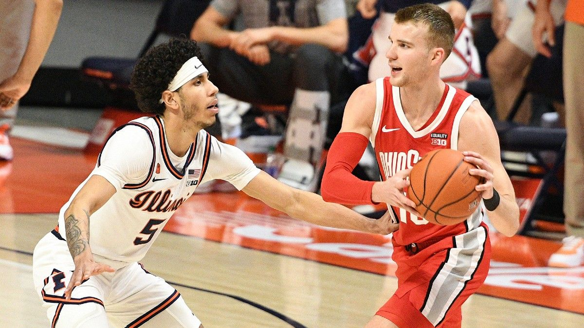 Illinois vs. Ohio State College Basketball Odds & Pick: Bet the Over In Marquee Matchup article feature image