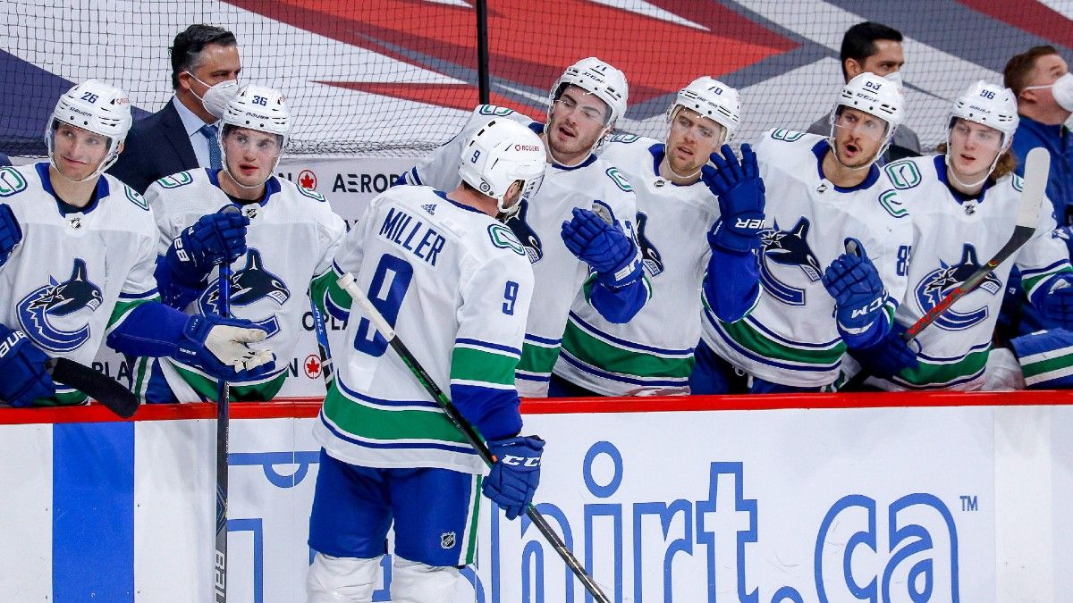 NHL Odds & Pick for Maple Leafs vs. Canucks: Schedule Boosts Value of Underdog Vancouver (Thursday, March 4) article feature image