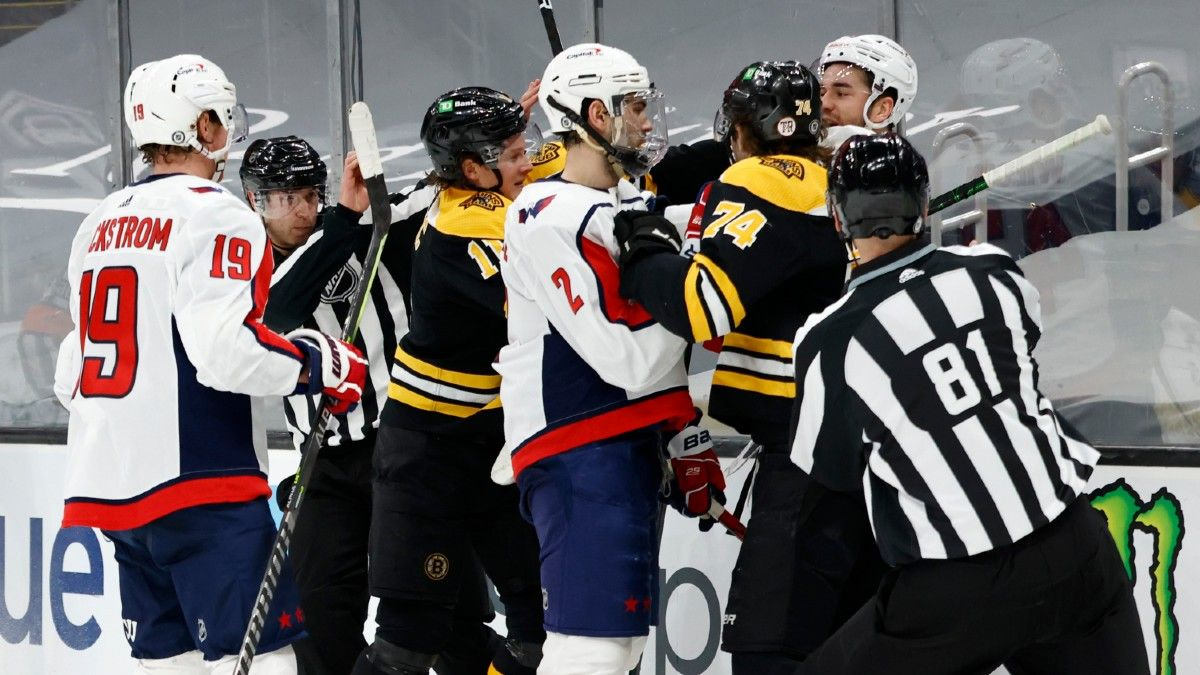 NHL Odds & Picks For Capitals vs. Bruins: Bet On Washington's Win Streak To End Friday article feature image