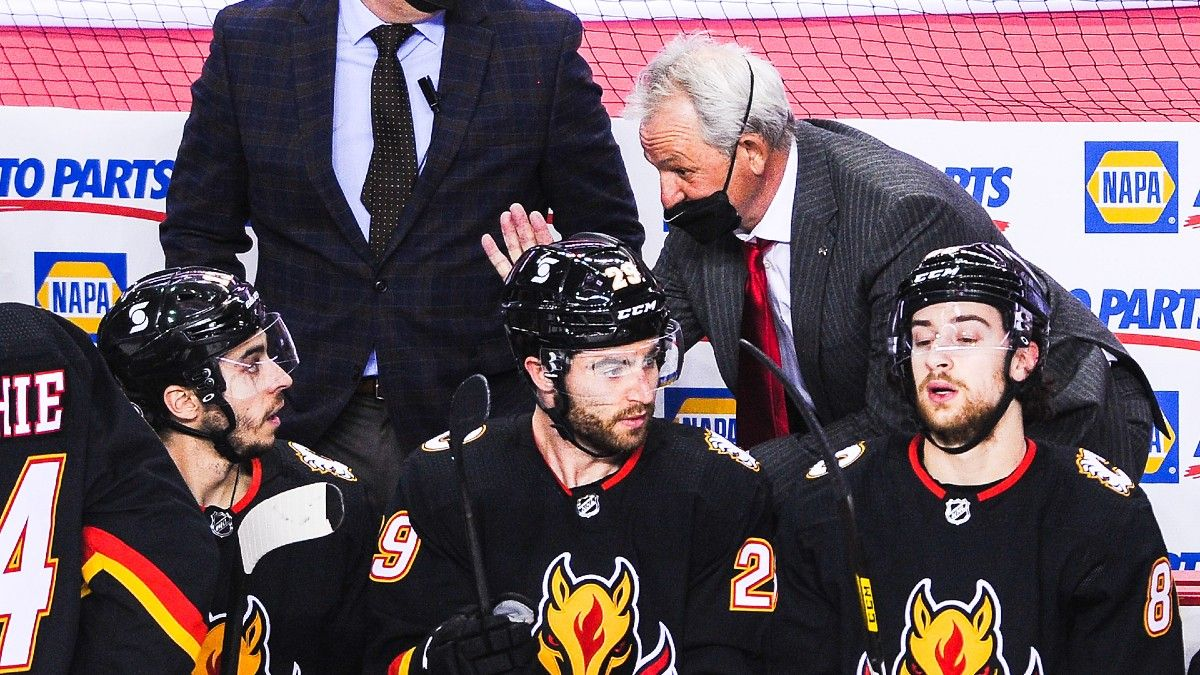 NHL Odds & Pick for Canadiens vs. Flames: Will 'New Coach Bump' Be Enough for Calgary? (March 13) article feature image