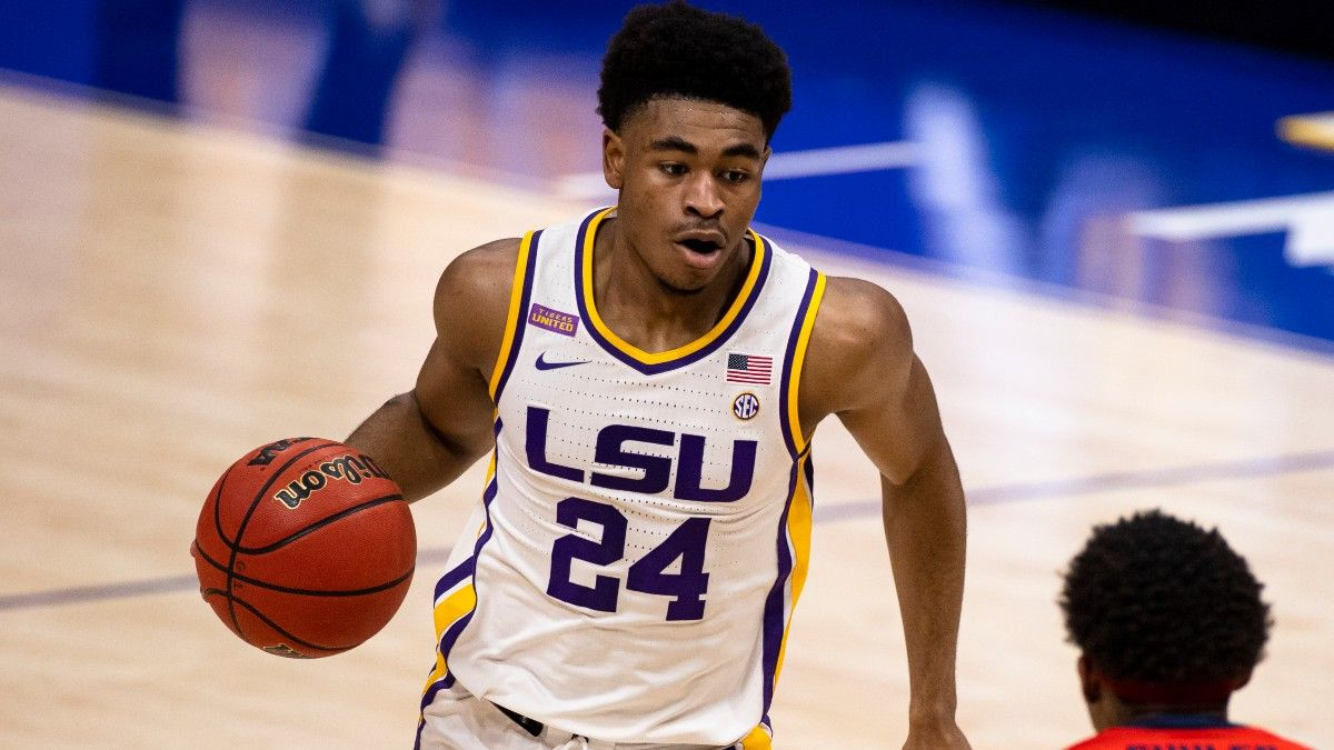 College Basketball Betting Odds & Pick for Alabama vs. LSU: Back Tigers to Cover in SEC Championship (Sunday, March 14) article feature image