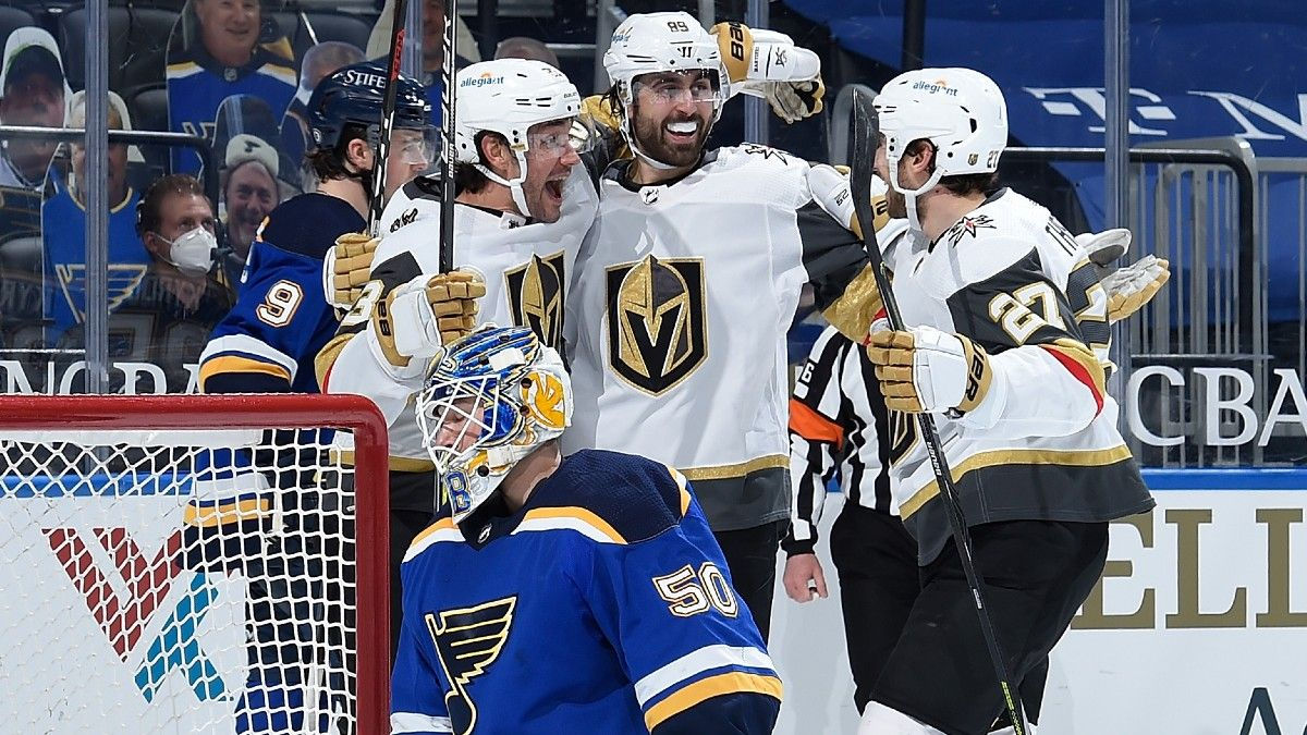 Golden Knights vs. Blues NHL Odds & Picks: Expect Goals in St. Louis (March 13) article feature image