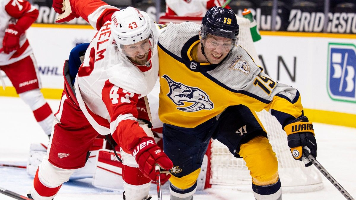Red Wings vs. Predators NHL Odds & Pick: Take Detroit to Avenge Loss on Thursday (March 25) article feature image