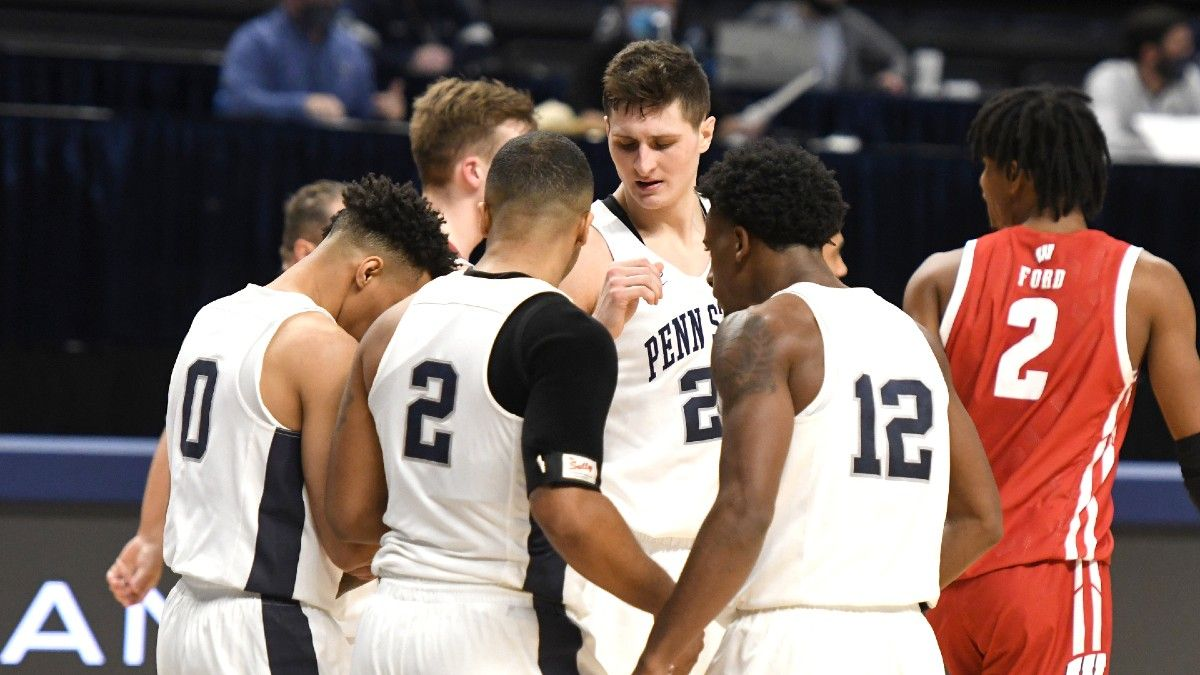 Penn State vs. Maryland Odds & Pick: Nittany Lions Have Edge on Glass article feature image