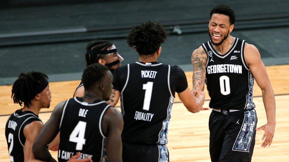 Georgetown vs. Creighton Odds, Betting Pick, Predictions: How to Bet Saturday's Big East Tournament Championship (March 13) article feature image