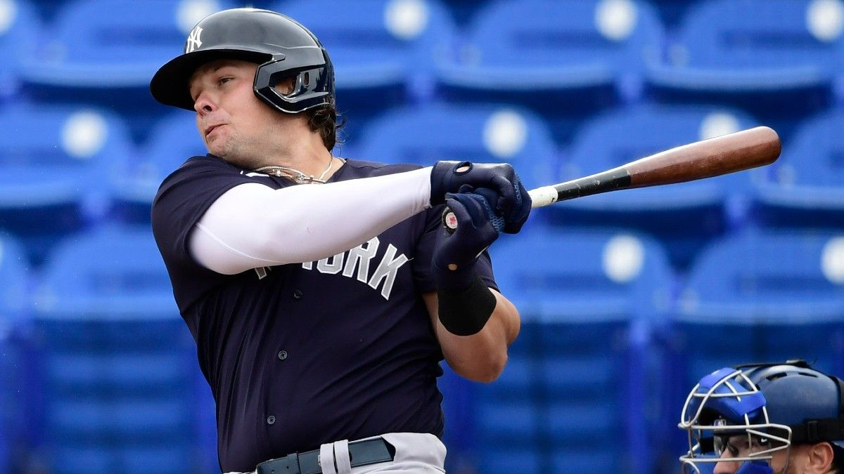 Luke Voit Injured: What it Means for Yankees' Odds, Plus Fantasy Impact article feature image