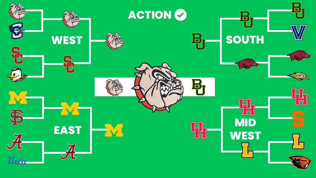 2021 NCAA Tournament Bracket: Projecting Every Team's Chances to Reach Final Four, Win National Title article feature image