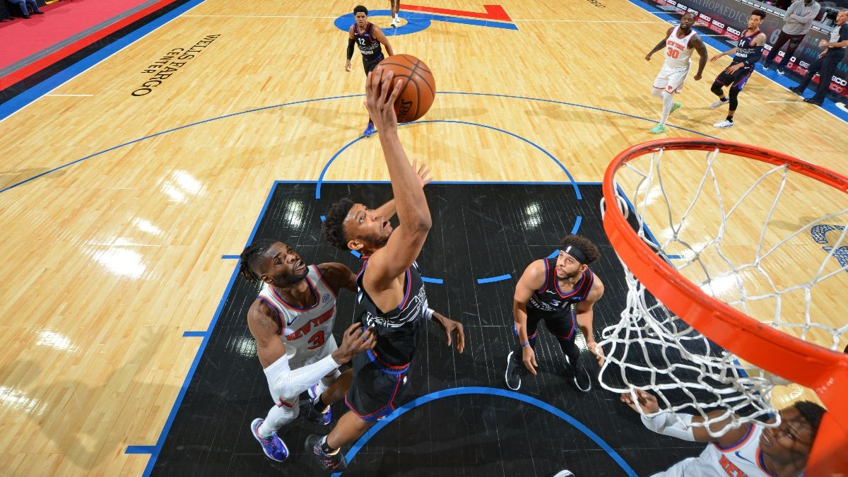 NBA Player Prop Bets, Picks, Predictions: Expect Big Rebounding Night from 76ers' Tony Bradley (Tuesday, March 23) article feature image