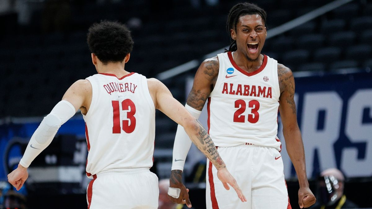 Alabama vs. UCLA Projected Odds: Our Spread, Total for NCAA Tournament Sweet 16 article feature image