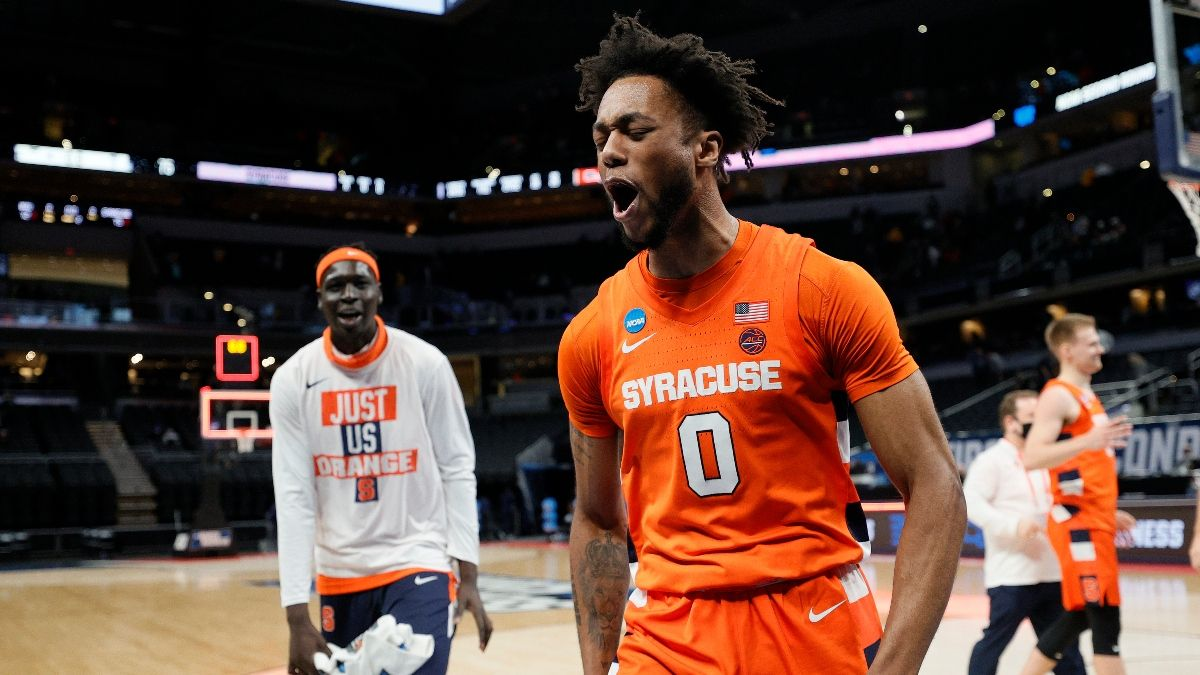 NCAA Tournament Player Props: Oral Roberts vs. Arkansas, Syracuse vs. Houston (Saturday, March 27) article feature image