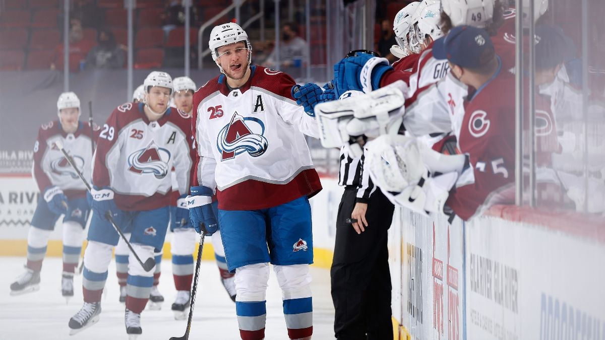 NHL Daily Betting Picks: Thursday Best Bets for Rangers vs. Flyers, Golden Knights vs. Avalanche & More (March 25) article feature image