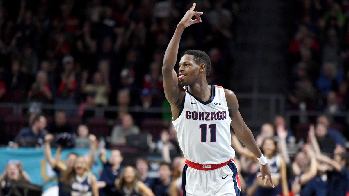 Gonzaga vs. BYU Odds & Pick: How to Bet the West Coast Conference Championship (Tuesday, March 9) article feature image
