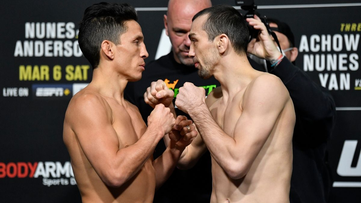 Joseph Benavidez vs. Askar Askarov UFC 259 Odds, Pick & Prediction (Saturday, March 6) article feature image