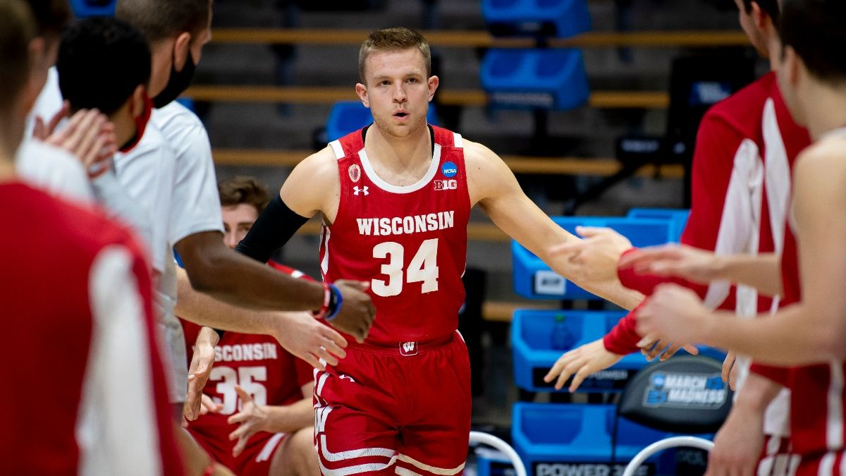 Sunday NCAA Tournament Player Prop Picks: Our Early Afternoon Picks, Including Illinois, Baylor & Wisconsin (March 21) article feature image