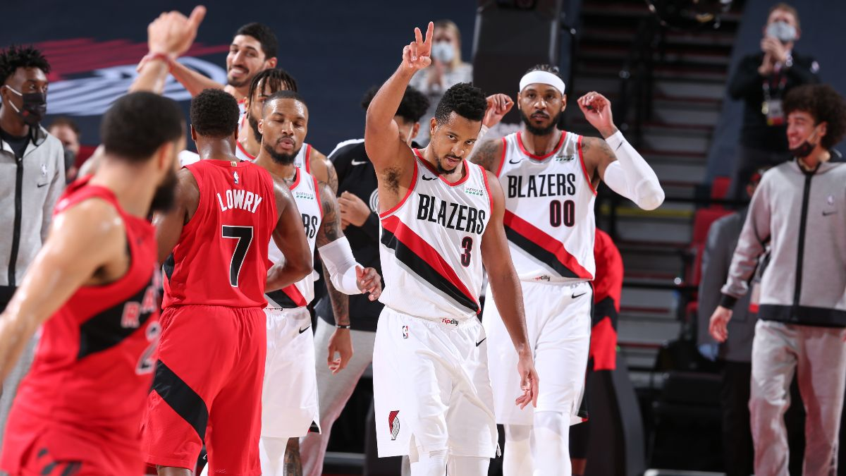 Sunday's NBA Odds, Picks & Predictions: Our Staff's Best Bets for Trail Blazers vs. Raptors (March 28) article feature image