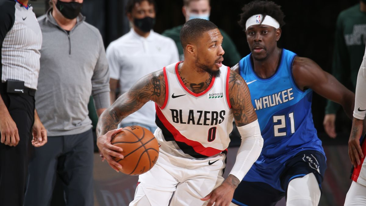 Friday NBA Odds & Picks for Bucks vs. Trail Blazers: Expect Both Teams to Score With Ease (April 2) article feature image