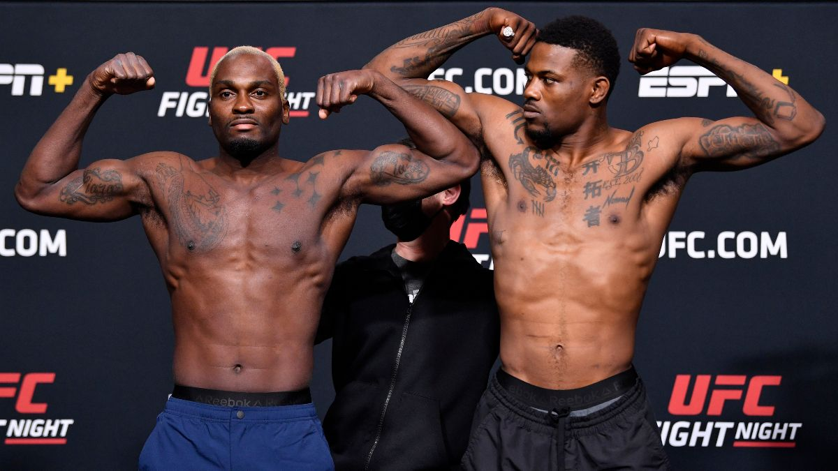 Derek Brunson vs. Kevin Holland UFC Fight Night Odds, Picks, Predictions: Bet the Underdog in Main Event (Saturday, March 20) article feature image