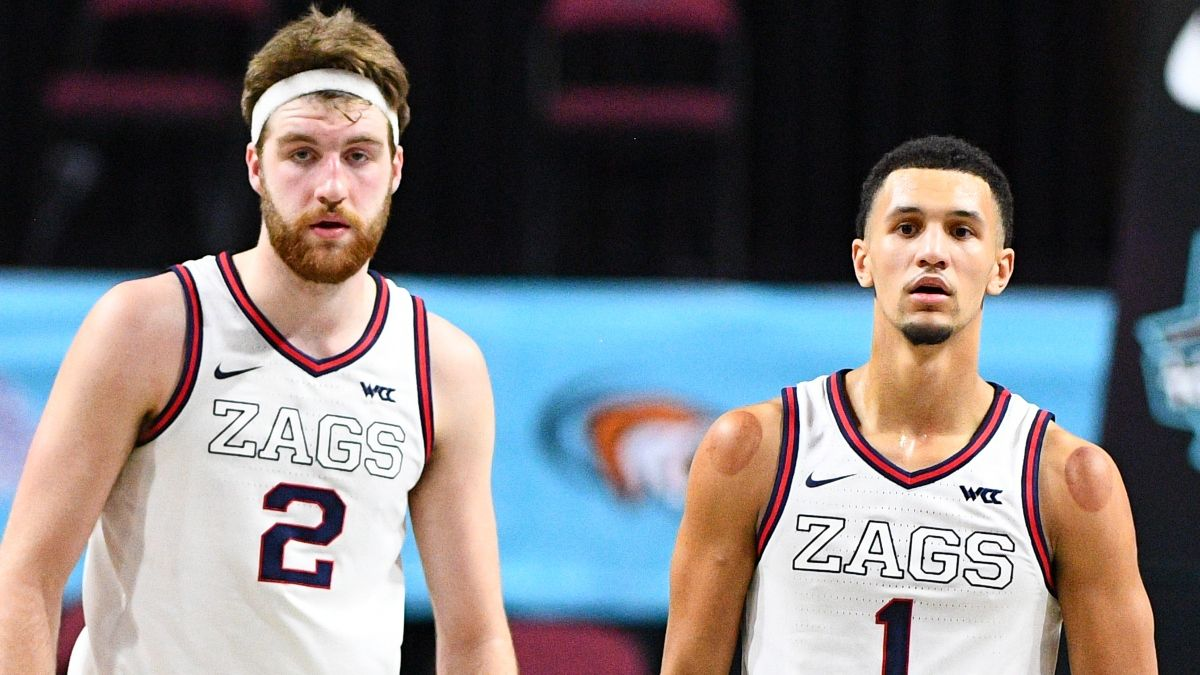 2021 Final Four Most Outstanding Player Odds: Gonzaga Stars Dominating Betting Board article feature image
