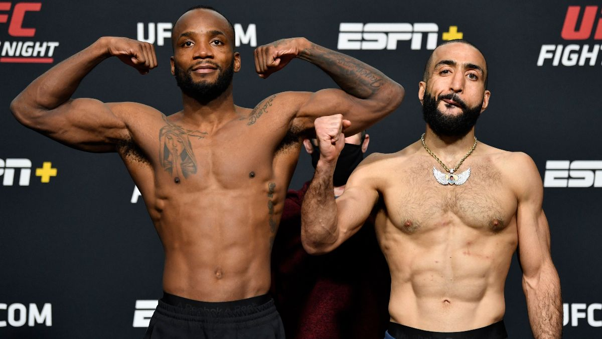 UFC Fight Night Odds, Schedule & TV Channel: Leon Edwards Remains Favorite Against Belal Muhammad article feature image