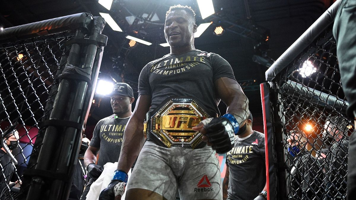 Francis Ngannou vs. Jon Jones UFC Odds: Early Line on Potential Heavyweight Championship Fight article feature image