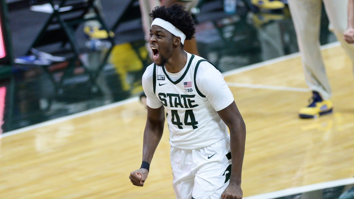 Michigan State vs. Maryland Odds & Sharp Betting Picks: Smart Money Shifting Thursday's (March 11) Line article feature image