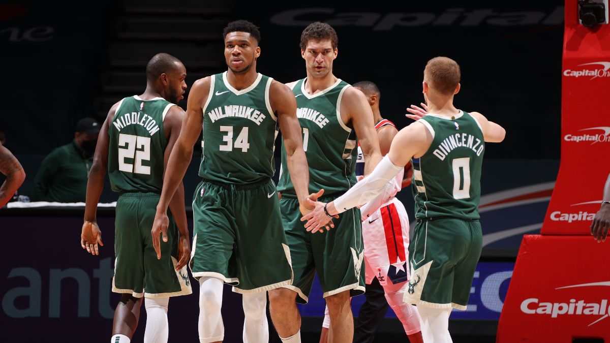 NBA Odds & Picks: Our Staff's Best Bets for Nets vs. Pacers, Bucks vs. 76ers (Wednesday, March 17) article feature image