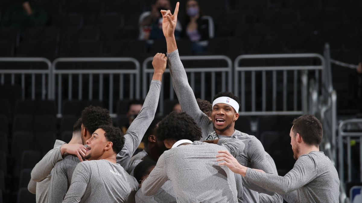 NBA Playoff Odds: The Milwaukee Bucks' 2021 Title Chances article feature image