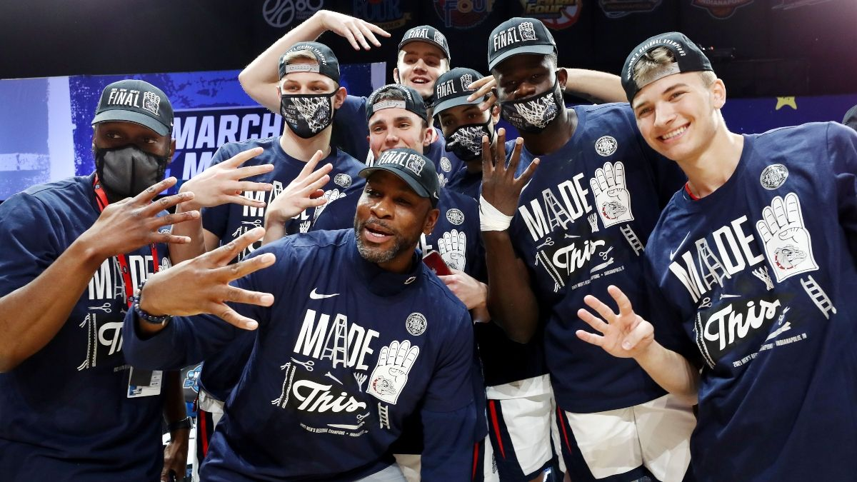 UCLA vs. Gonzaga Odds, Spread: Bulldogs Among Largest Final Four Favorites in NCAA Tournament History article feature image