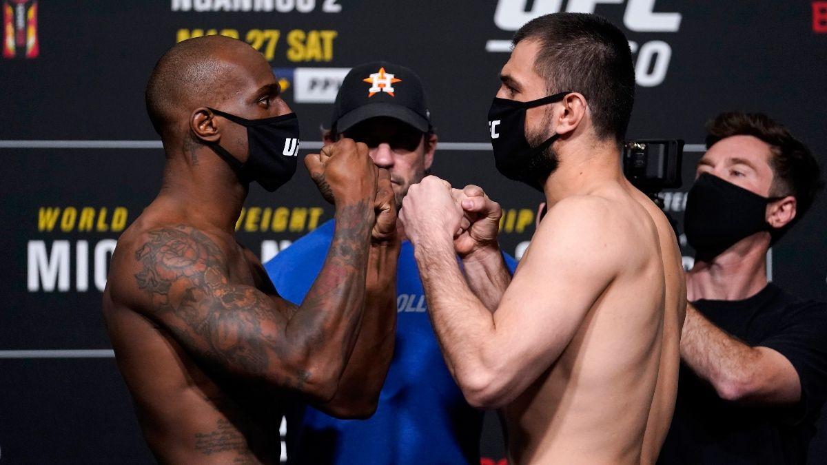 Jared Gooden vs. Abubakar Nurmagomedov UFC 260 Odds, Pick & Prediction (Saturday, March 27) article feature image