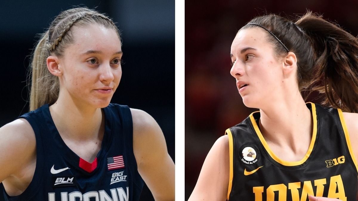 Paige Bueckers & Caitlin Clark Scoring Prop: Freshman Stars Expected to Shine in UConn vs. Iowa Showdown article feature image