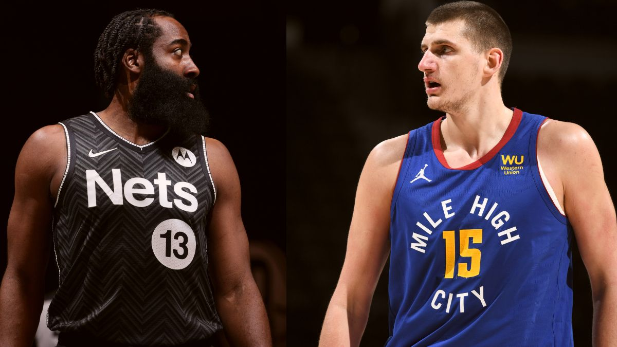 NBA MVP Odds Tracker: Nikola Jokic, James Harden Separating Themselves From the Field article feature image