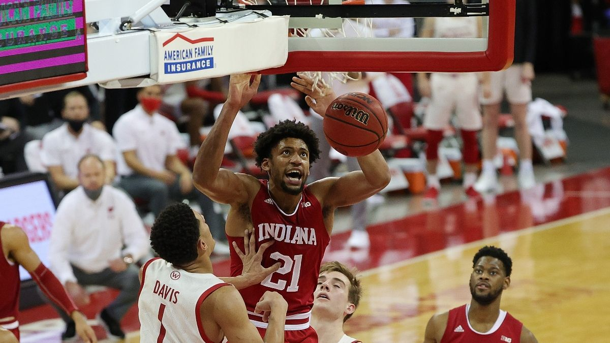 Indiana Promo: Bet $1, Win $100 on a Hoosiers Slam Dunk article feature image