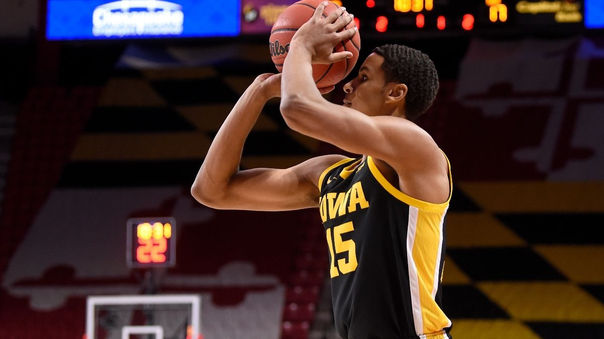 Iowa Big Ten Tournament Promos: Bet $20, Win $125 if the Hawkeyes Hit a 3-Pointer, More! article feature image