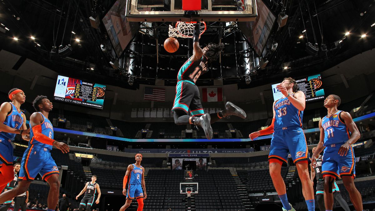 NBA Odds, Picks & Projections: Bets for Cavaliers vs. Bulls, Grizzlies vs. Thunder, More (Wednesday, March 24) article feature image