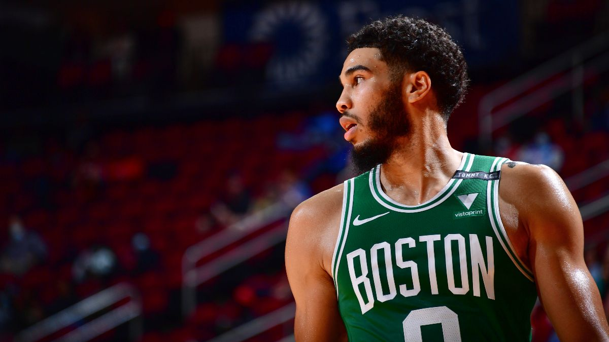NBA Player Prop Bets, Picks for Tuesday: Trust the Shooting Consistency of Jayson Tatum (March 16) article feature image