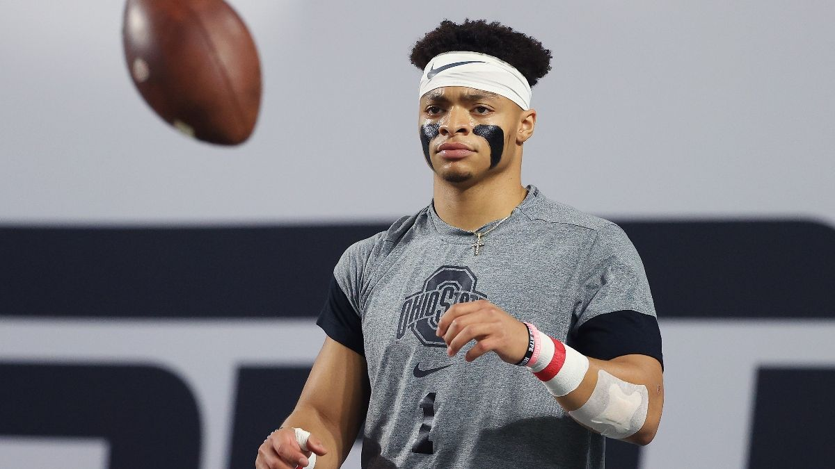 Justin Fields Now the Favorite To Be No. 3 Pick In 2021 NFL Draft article feature image