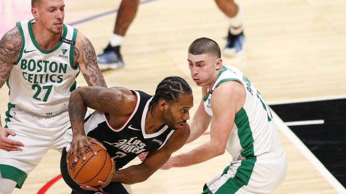 NBA Odds & Picks for Clippers vs. Celtics: Big Money Backing L.A. At TD Garden article feature image