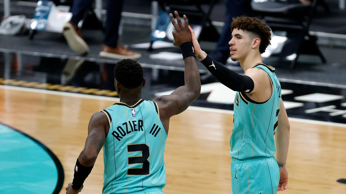 NBA Odds & Picks for Hornets vs. Lakers: Fade LeBron and Los Angeles against LaMelo Ball and Co. article feature image
