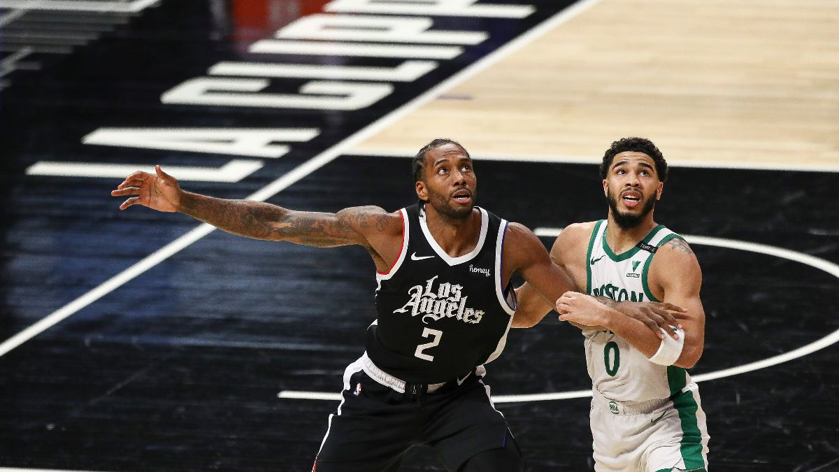 Clippers vs. Celtics NBA Odds & Picks: Expect Kawhi Leonard and Co. to Bounce Back on the Road article feature image