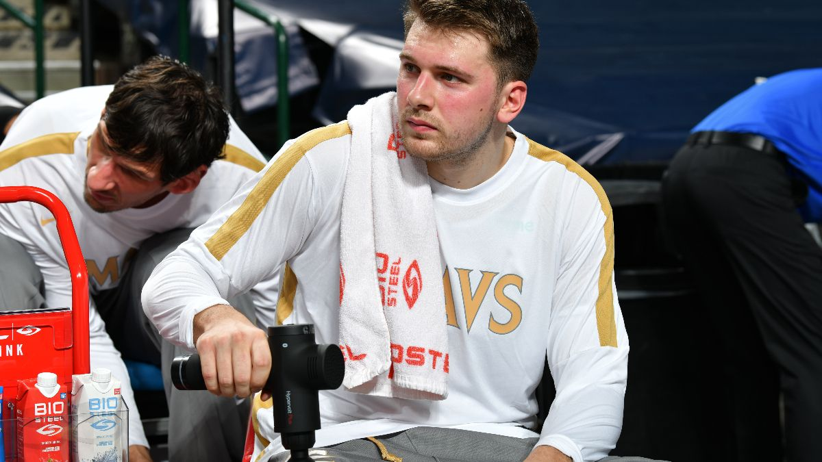 NBA Injury News & Starting Lineups (March 3): Luka Doncic Out Wednesday article feature image