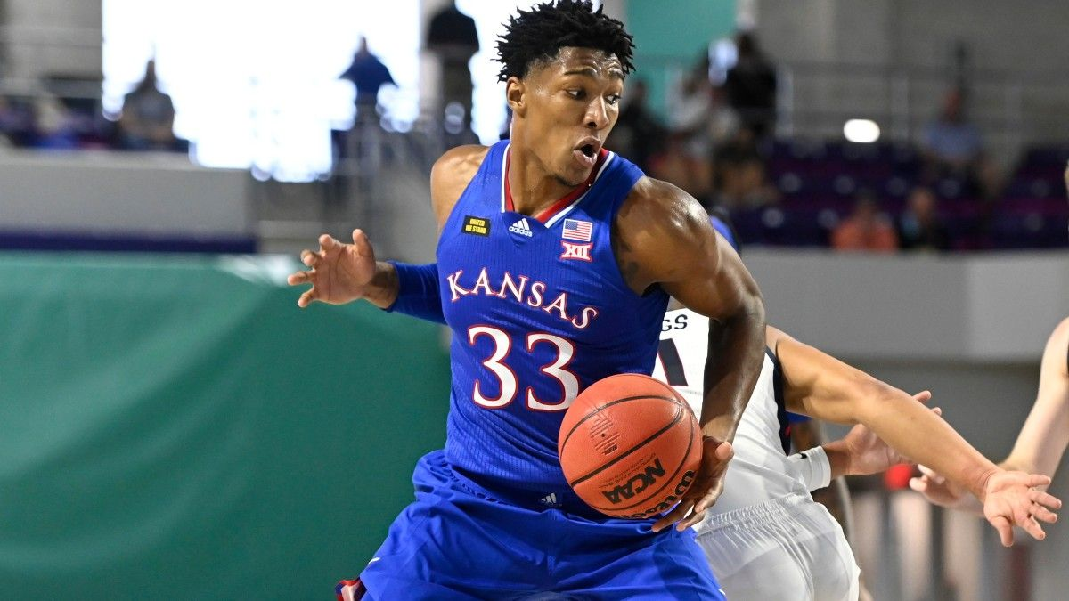 Kansas to be Without David McCormack & Tristan Enaruna in Big 12 Tournament Due to COVID-19 Protocols article feature image