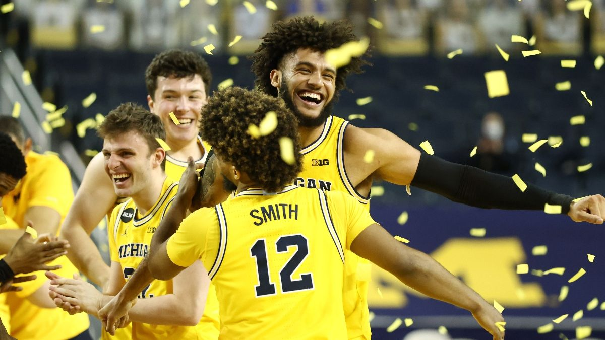 Michigan Big Ten Tournament Promos: Bet $20, Win $125 if the Wolverines Hit a 3-Pointer, More! article feature image