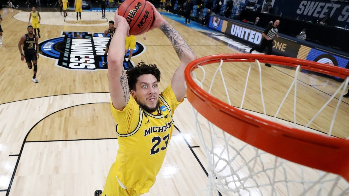 Elite Eight Promo: Bet $20, Win $100 Cash if There's a Slam Dunk in Michigan-UCLA! article feature image