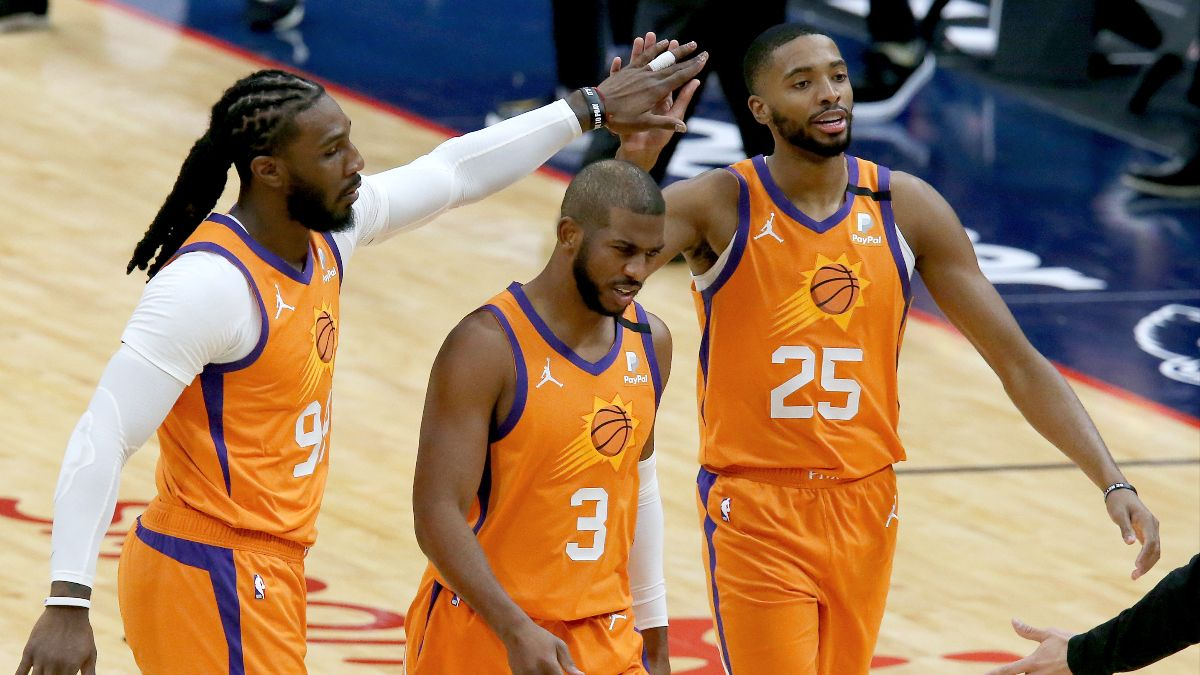 NBA Odds & Picks: Our Staff's Best Bets for Hornets vs. Wizards, Hawks vs. Suns (Tuesday, March 30) article feature image