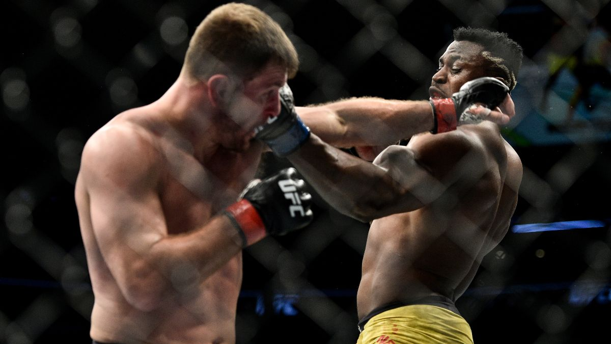 Stipe Miocic vs. Francis Ngannou Odds, Picks, Predictions: UFC 260 Main Event Preview (March 27) article feature image